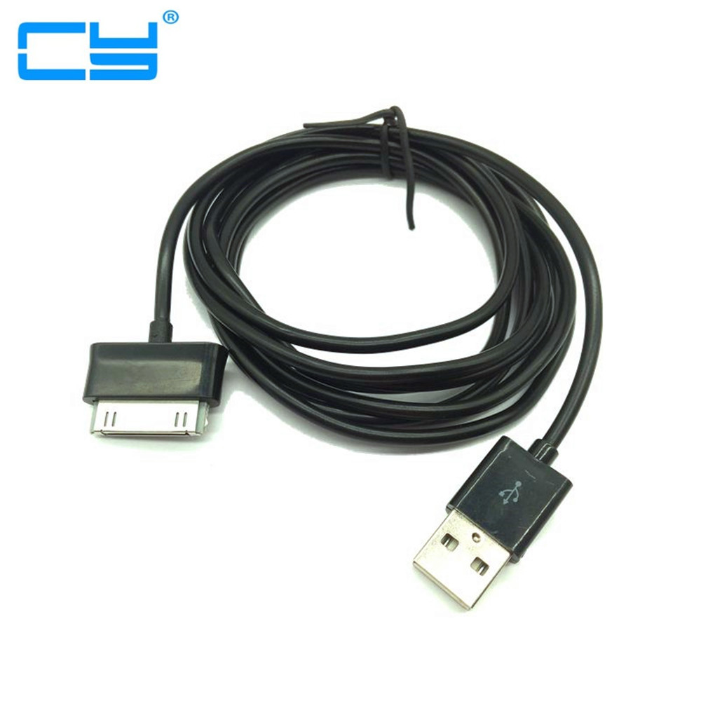 все цены на Super Long USB Data Charging Cord Charger Cable for Samsung Galaxy Tab2 P3100 P5100 Note 10.1 N8000 P7510 P1000 Free shipping онлайн