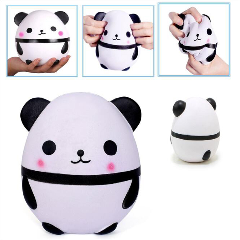 Welding & Soldering Supplies Jumbo Cute Panda Bear Egg Squishy Slow Rising Squeeze Toys Soft Stretchy Scented Stress Relief Toy Xmas Decor Gifts 13*9.5cm Y* Soft And Light