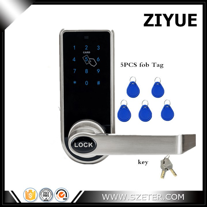 Keyless Digital Keypad Password Code Number Electronic Door Locks for Home Office Apartment 10pcs mitsubishi tcmt110204 vp15tf carbide inserts