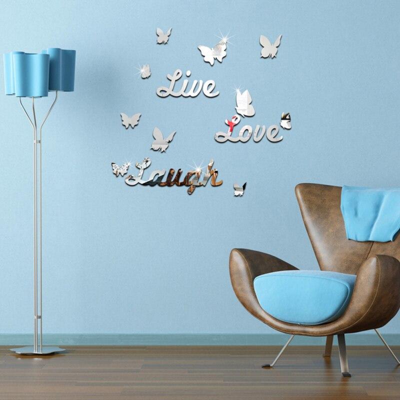 Wall Sticker Love Laugh Live