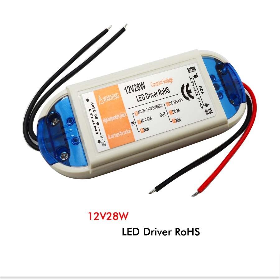LED Driver AC 110V 220V to DC12V Led Power Adapter Transformers for LED Strip 18W 28W 48W 72W 100W Power Supply
