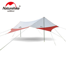 Naturehike Large Camping Tent Awning Beach Playing Games Fishing Hiking Outdoor 5 Person Tent uv 4 5 6 person 6 4 3 2 4m habe fishing sunshade beach awning party pergola travel driving park trekking outdoor camping tent