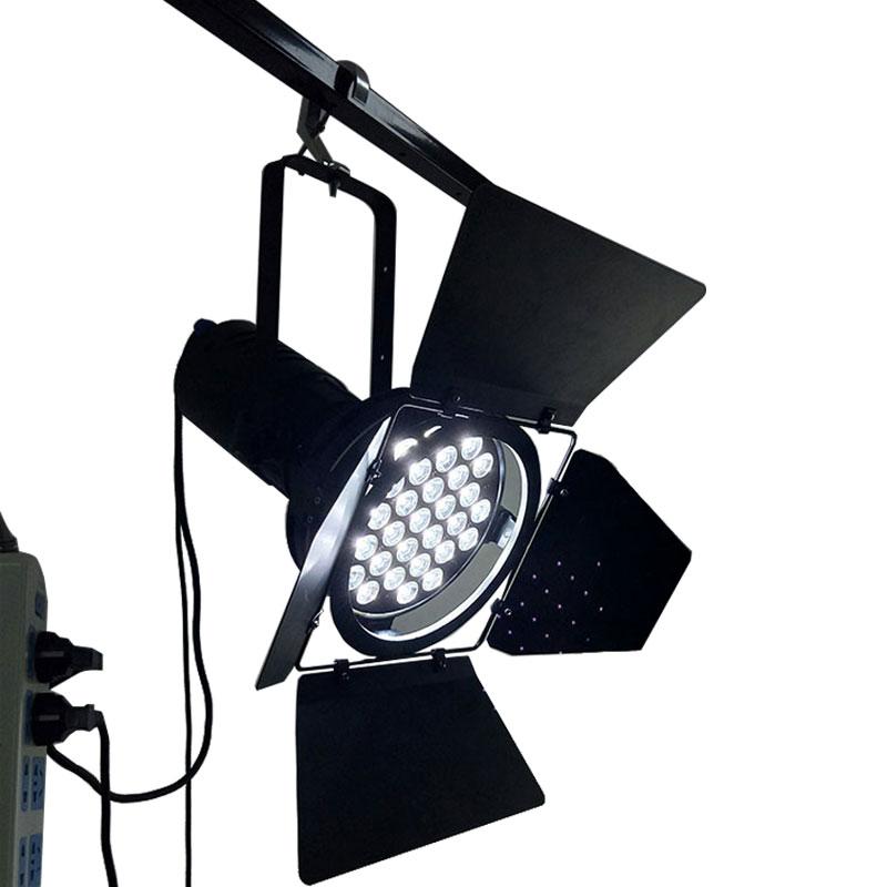 2pcs/lot Car Exhibition Hall Lighting LED Par 31x10WD Spotlight DMX Channels For Auto Show DJ Disco Stage Light