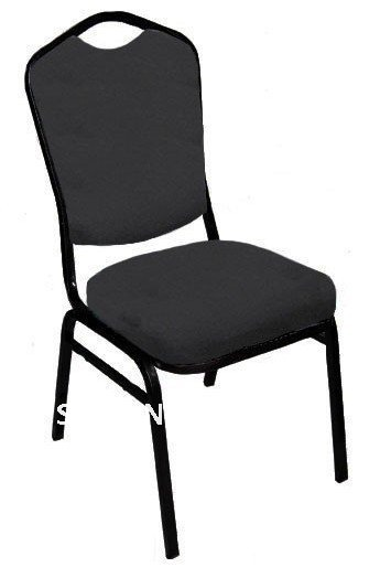 Hot Sale Stacking Steel Banquet Chair LUYISI1039,fabric,5pcs/carton,safe Package