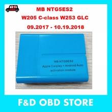 Mer-cedes CarPlay Apple Android автоматическая активация через OBD W205 c-класс W253 GLC(требуется код SA154 datacard) NTG5.2