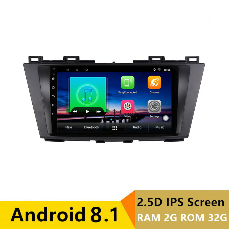 "9"" 2G RAM 32G ROM Android Car DVD Video Player GPS for Mazda 5 2009 2010 2011 2012 2013 car Radio audio stereo headunit wifi"