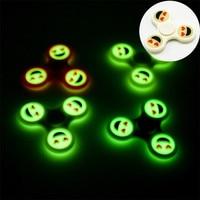 Fidget Spinner Finger Spinner LED Light ABS EDC Stress Wheel Hand Spinner For Kids Autism ADHD