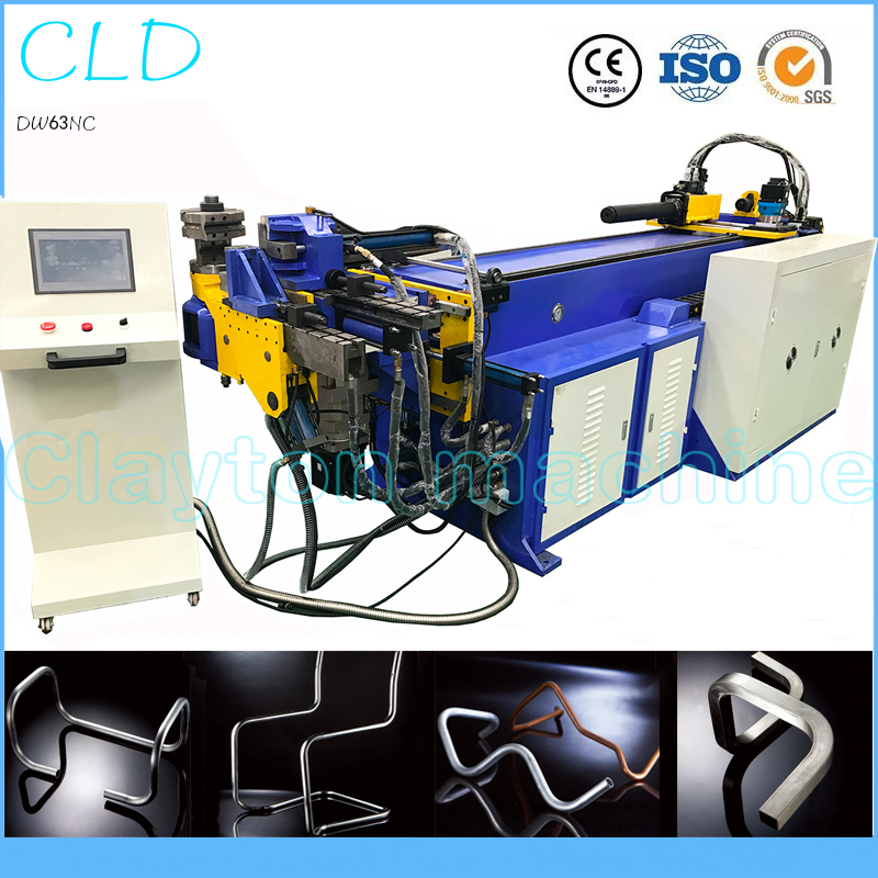 The hot 5mm-50mm DW50CNC3A2S automatic bending machine,CNC pipe bender,hydralic tube bender with high-quality and low price