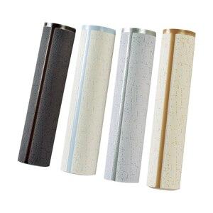Image 5 - Nowoczesny wzór geometryczny marmurowa krata 3D stereoskopowa tapeta z tkaniny salon tło pod telewizor rolki tapety