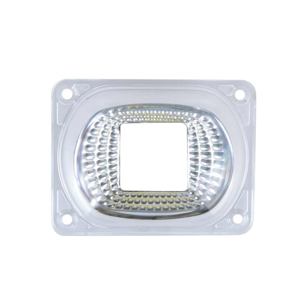 LED Lens Reflector Fireproof Lamp Covers With Waterproof Silicone Ring Apply to COB LED Chip Matrix Floodlight Searchlight