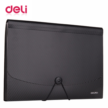 Deli 1pcs A4 Expanding Wallet durable Manage files Organizer Paper Holder Document Filling Products manage