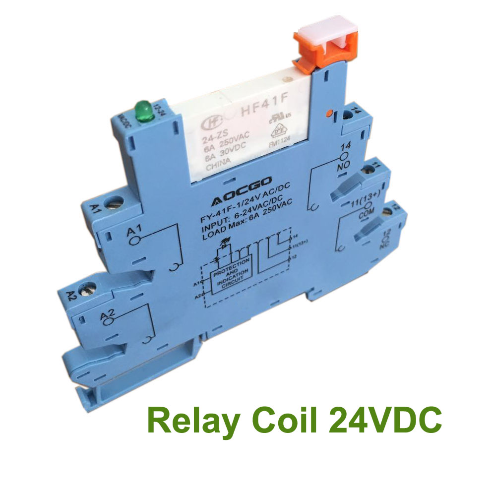 Buy Slim Relay Mount On Screw Socket With Led And Circuit Theory 24v