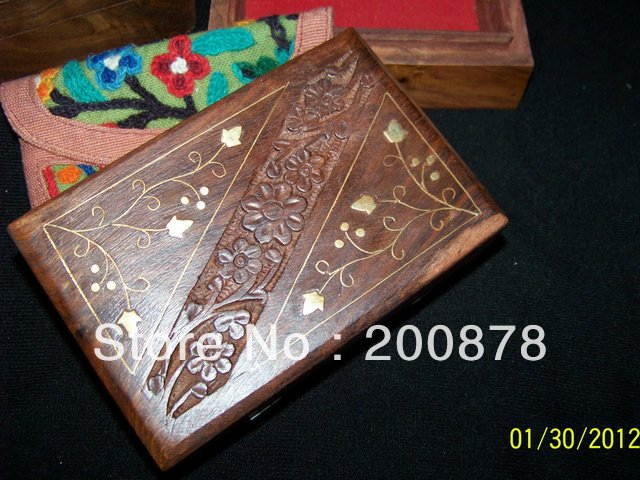 wholesale home decor products for resale tjb976 indian handmade wooden vintage jewelry box 155 100 13540