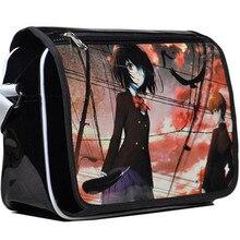 Hot Japan Anime Cartoon Another Misaki Mei Messenger Bags PU Satchel Shoulder Bag Casual Laptop Bags