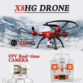 NOVA Syma X8HG RC Drone Quadcopter com Câmera de 8MP WI-FI HD 2.4G 6 Eixos Venture RTF Helicóptero Frete grátis