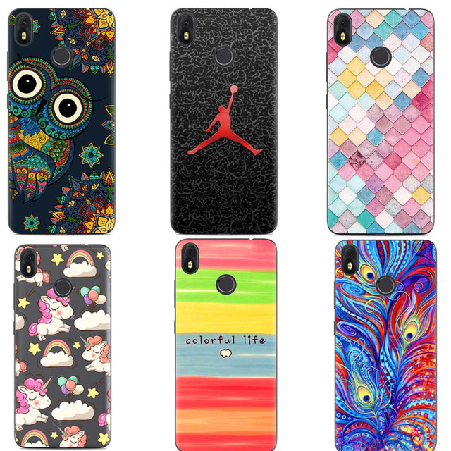 best service 444ad ec09c US $2.08 31% OFF|Original for Infinix Hot S3 X573 cover case Fingerprint  Cellphone silicon phone cartoon back case-in Fitted Cases from Cellphones &  ...