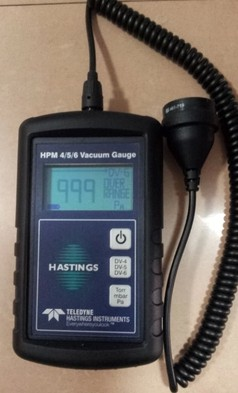 Hastings Portable Vacuum Gauge HPM4/5/6 Original GenuineHastings Portable Vacuum Gauge HPM4/5/6 Original Genuine
