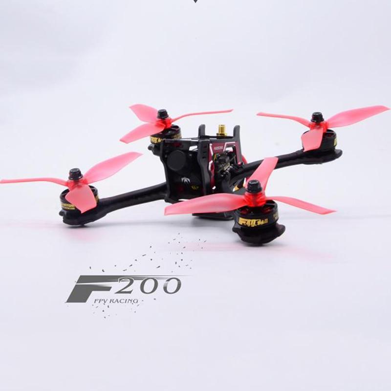 Impressionnant F200 quadrirotor cadre Drone Kit F3 20A Blheli_S 5.8G 40CH VTX PNP 200mm Version haut de gamme FPV course Drone RC Multicopter