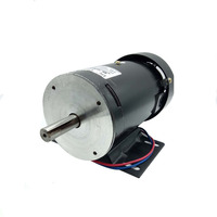 Bringsmart ZYT21 DC Motor 220V 1800rpm PM High Speed Motor 300W DC Speed Regulation Reversible 1.5Nm High Torque Electric Motor