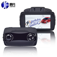Mini Camera DVR Car Radar Detector GPS 3 In 1 Russian Full HD 1080 P Video