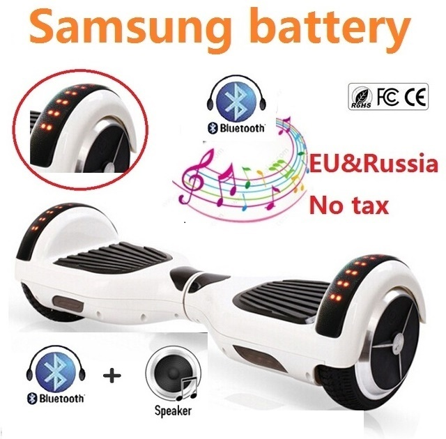 цена на 6.5 inch electric scooter Self balancing scooter 2 wheel electric standing scooter skateboard hoverboard bluetooth oxboard