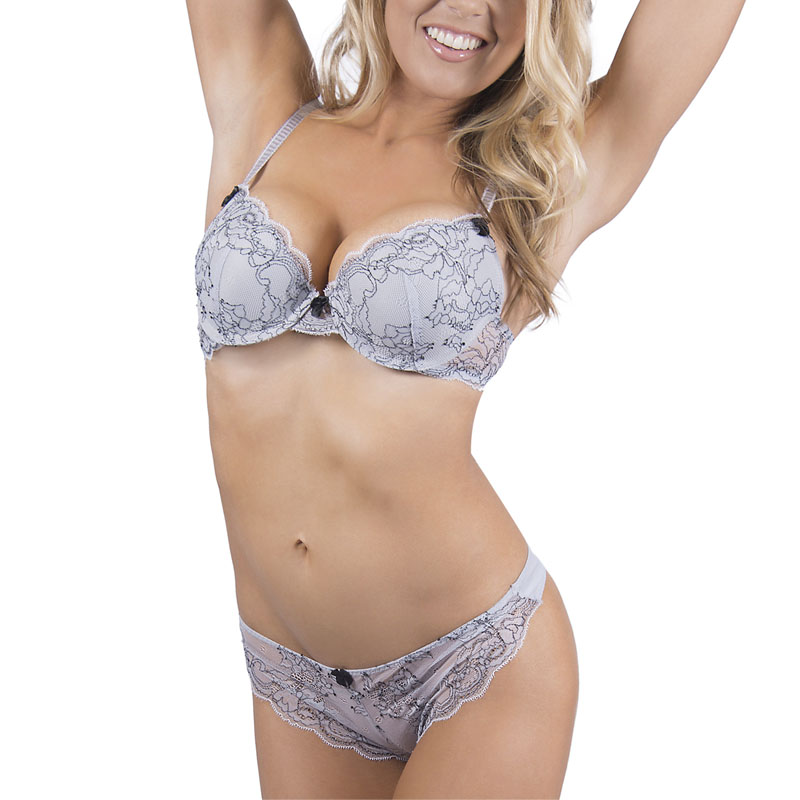 Womens Bra Setes Sexy bra Underwire Push Up Cup High Quality Fashion Lace Bra Brief Sets ...