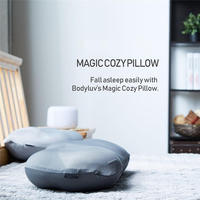 Polyester Pillowcase Cover Air Balls Filling Beauty Sleeping Pillow For Sleep Neck Therapy Massage Headrest Pillows With Case