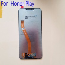 With Frame 6.3 For Huawei Honor Play COR-L29 LCD Display Touch Screen Digitizer Assembly Replace