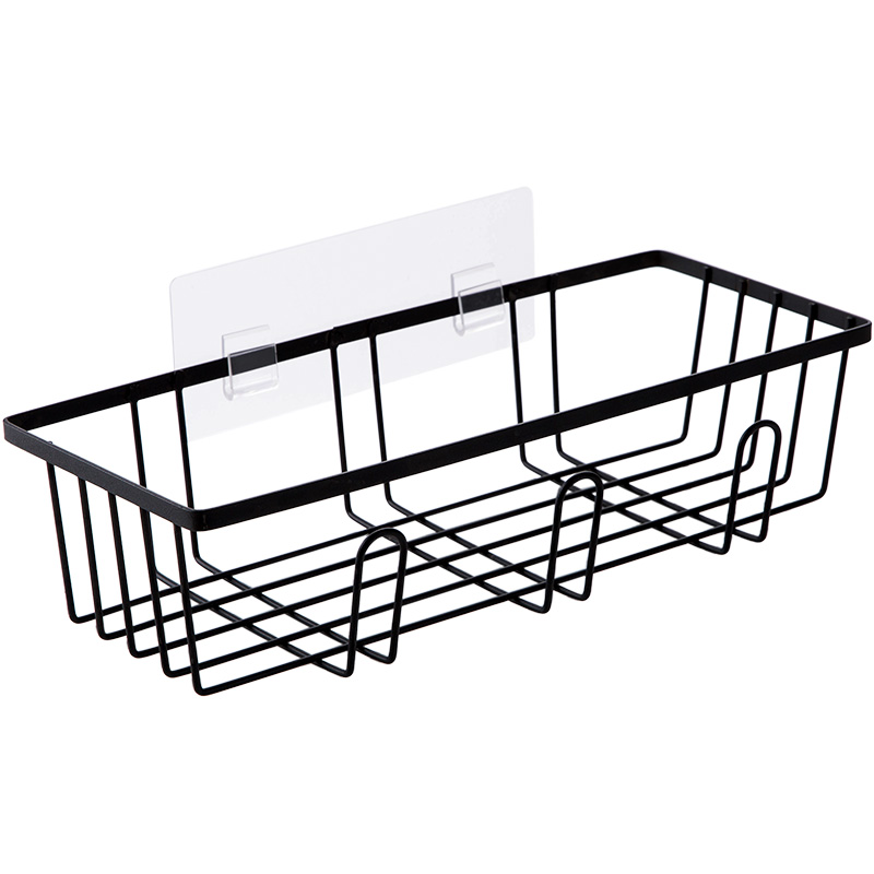 Cheap Sale A1 Wei-free Perforated Waterproof Toilet Absorbent Washbasin Storage Rack Raw Shelf Wall Bathroom Wall Lo5151146 Home Improvement