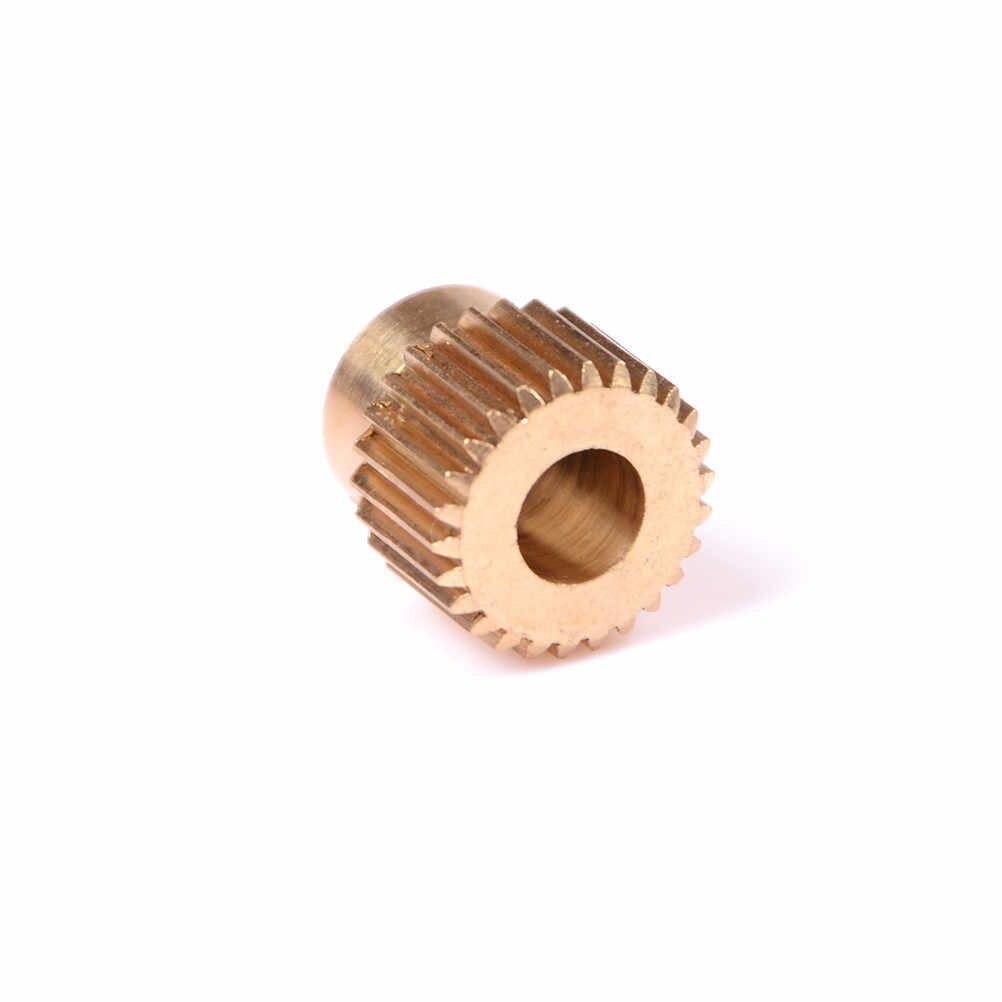 เครื่องพิมพ์3D E Xtruderเกียร์มินิ26เกียร์ทองเหลืองไดรฟ์เกียร์ดาวเคราะห์ลดเครื่องอัดรีดเกียร์ให้อาหารล้อ11มิลลิเมตรx 11มิลลิเมตรฟัน