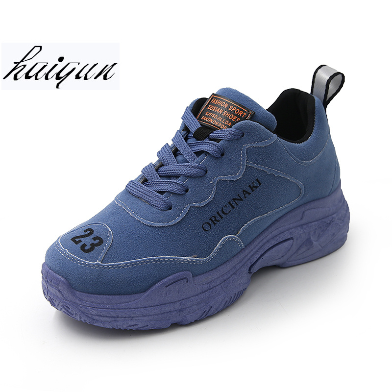 все цены на 2018 Spring Autumn Women Casual Shoes Comfortable Platform Shoes Woman Sneakers Ladies Trainers chaussure femme size 35-39