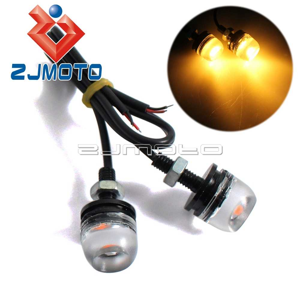 Detail Feedback Questions About 1pair 12v Led Motorcycle Flashers 4 Flasher Headlight Strobe Flashing Circuit Car Tail Eagle Eye Light Daytime Running Drl Trunk License Number Plate