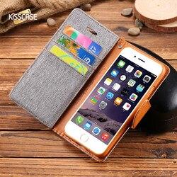 KISSCASE rétro livre Flip portefeuille en cuir synthétique polyuréthane étui pour iphone 5 s 5 SE housse téléphone sac pochette étui pour iphone 5 5 s SE 6 6 s 7 Plus