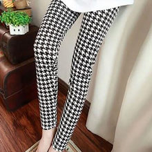 513fb123873cb Houndstooth Maternity Overalls Pants Pregnant Women Office Ladies Pregnancy  Clothes for Summer Spring Maternity Clothing New