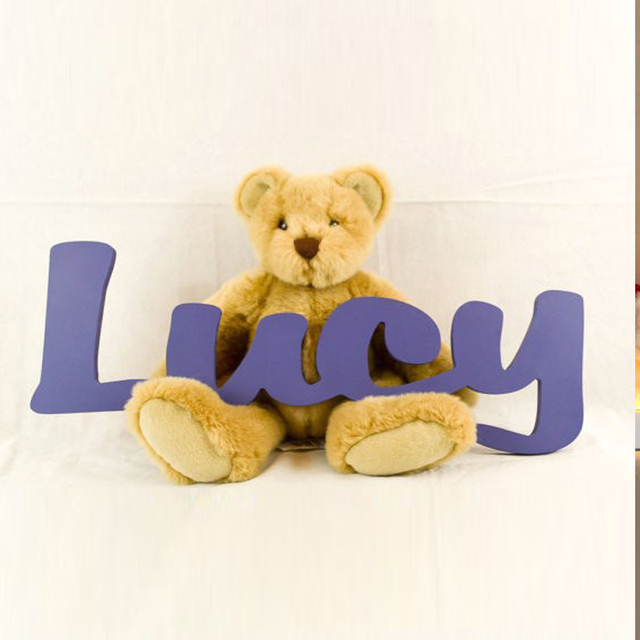 kids personalized wooden name signs childrens name wall decor wooden letters wooden