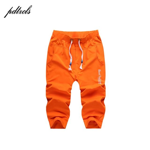 d967bc48 2018 Hot Summer Casual Slim Jogger Pants Hip Hop Men Casual Slim Calf  Length Sweatpants For