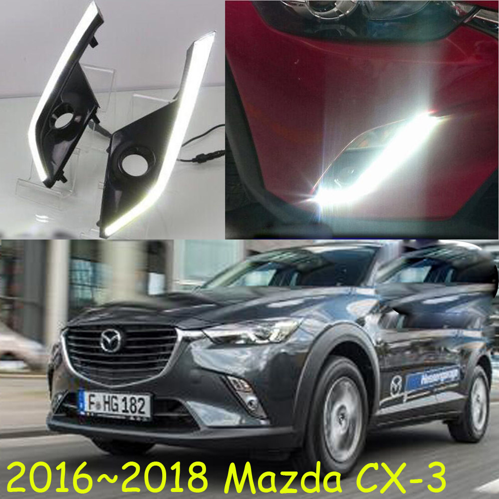 LED,2016~2018 mazd CX-3 daytime Light,CX-3 fog light,CX-3 headlight;Tribute,RX-7,RX-8,Protege,MX-3,Miata,CX-3,CX3,CX 3 палатка 3 м аtemi altai 3 cx