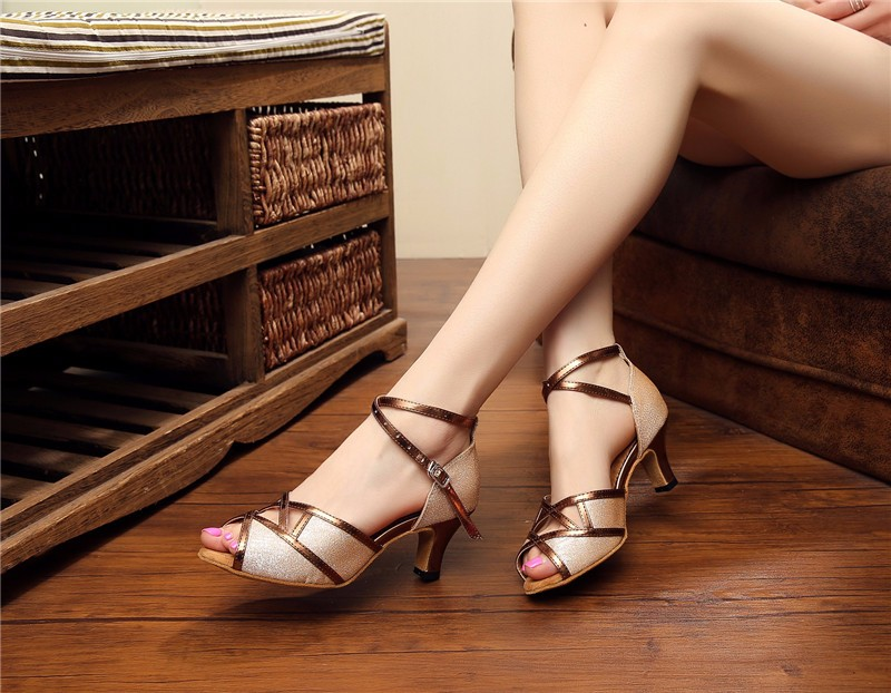 high quality lady shoes dance shoes latin salsa shoes