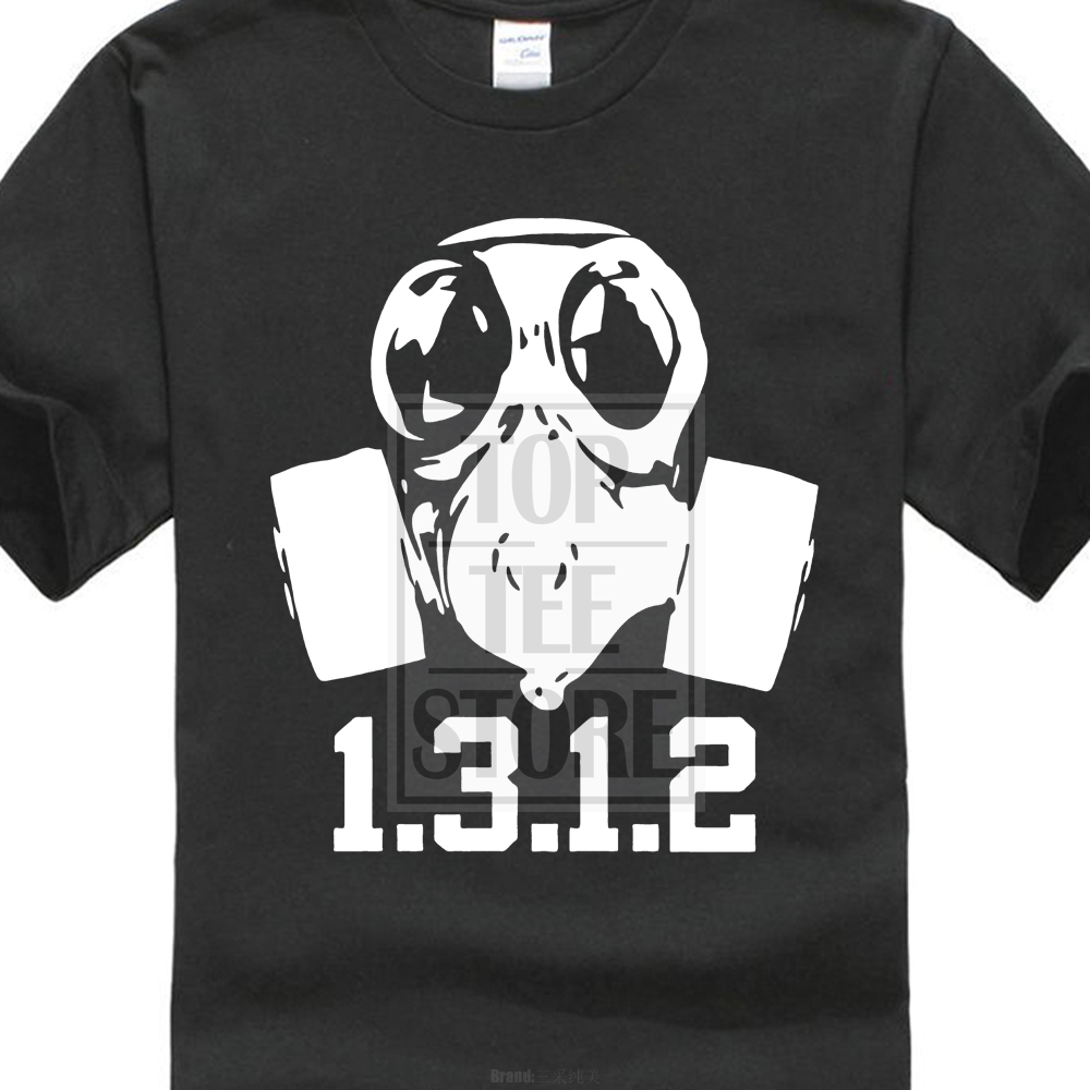 Tops & Tees Funny Men T Shirt Women Novelty Tshirt Bee With Gas Mask S Cool T-shirt Reasonable Price