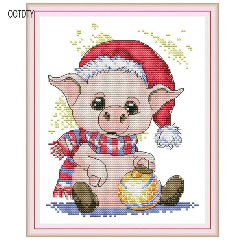 b670eb4f27 Cheap Aida Cloth, Buy Directly from China Suppliers:Cute Pig DIY Handmade  Needlework Counted