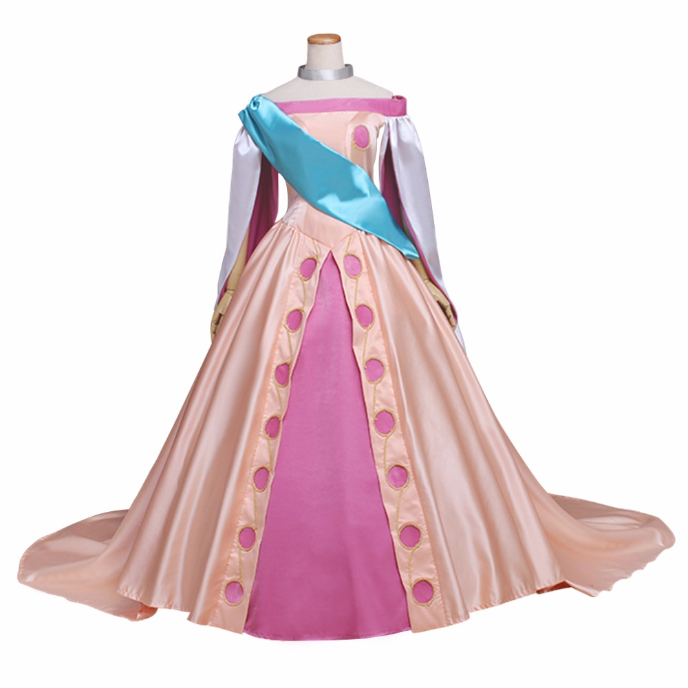 Princess Anastasia Dress Costume Cosplay Movie Anastasia Adult's Custom Made Dress Women's Dress Costume Cosplay for Party