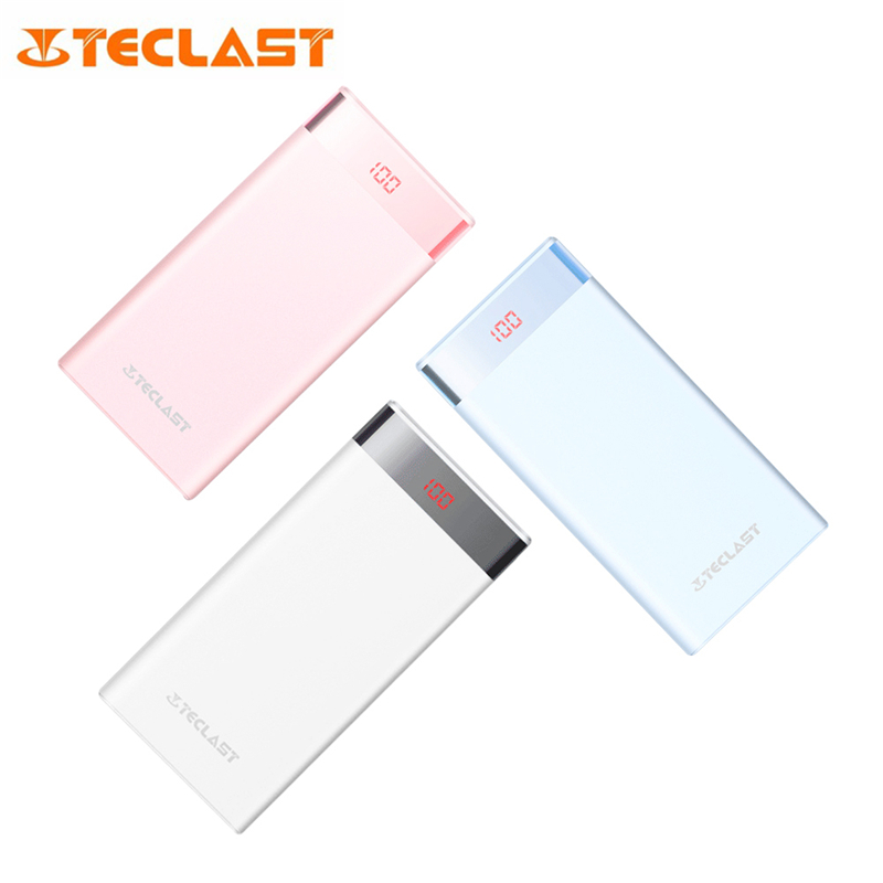 Teclast T200CF 20000mAh/10000mAh Power Bank Digital Screen Display Dual USB Interface High-speed Output Portable Power Bank