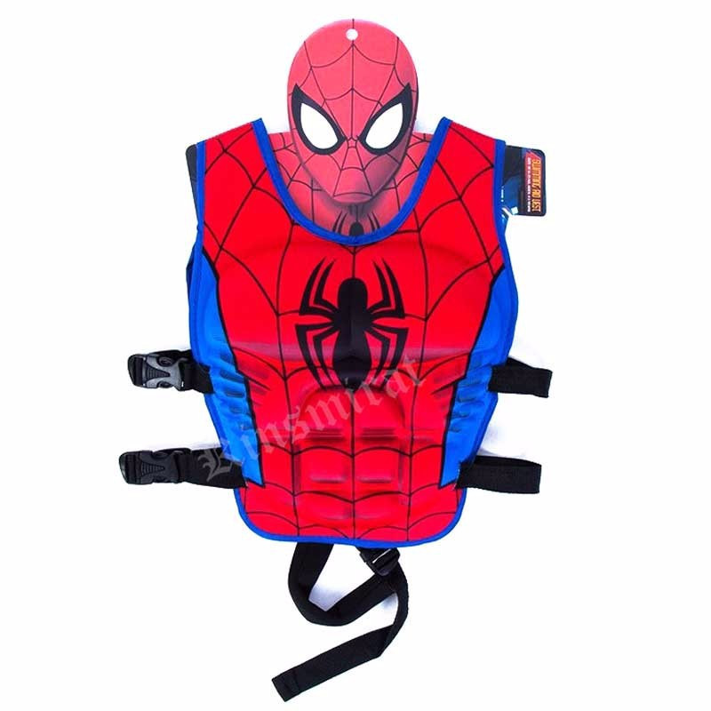 Inflatable Swim Ring Vest 2-6T Baby Swim Trainer Fishing Life Jacket Boy Girl Float Swimsuit Donut Pool Accessories L2388
