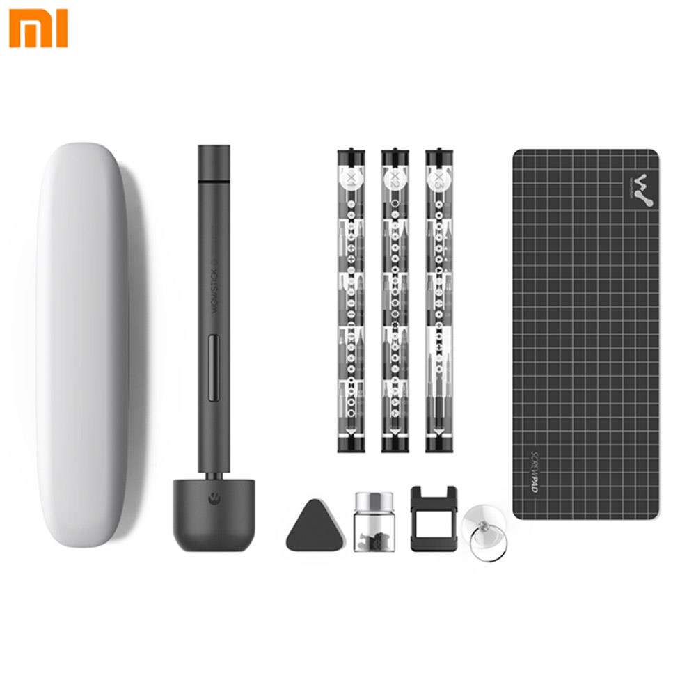 Xiaomi Wowstick Driver 1f Upgrade Version Mini Electric Turn Screw Pocket Toolbox USB Charging Version Magnetic