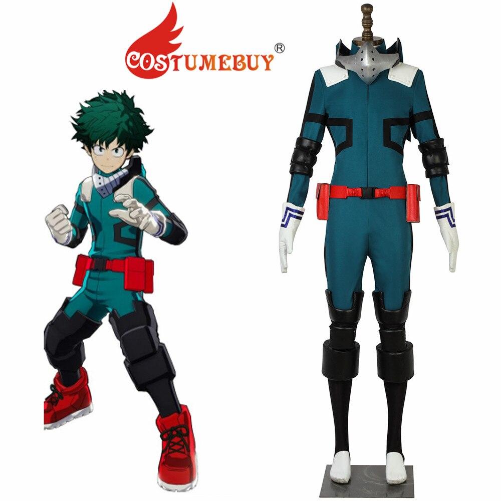 CostumeBuy My Hero Academia Boku no Hero Akademia Izuku Midoriya Version 2 Deku Cosplay Costume Mens
