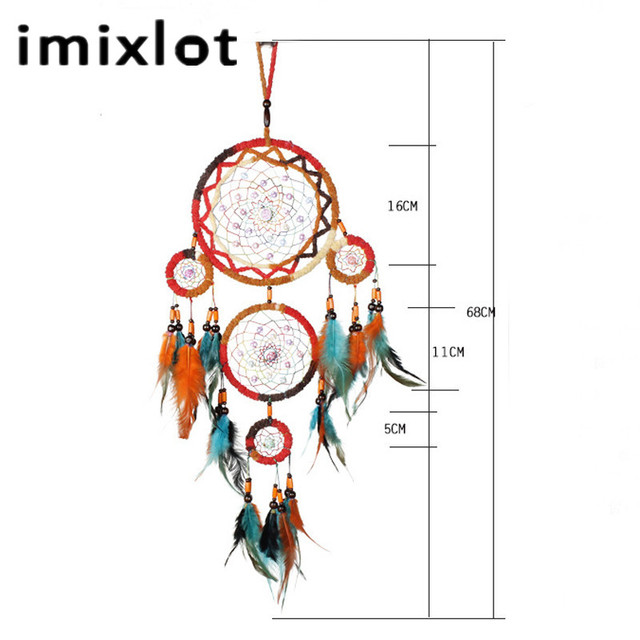 Colorful Circle Dream Catcher