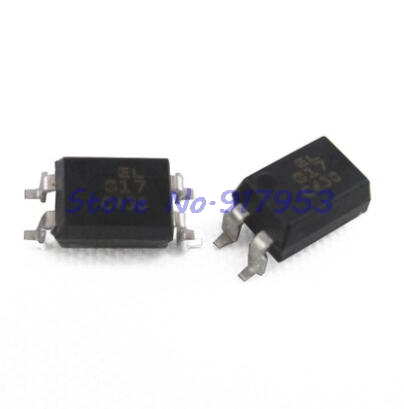 100pcs/lot SMD optocoupler EL817C (PC817) EL817S-C SOP-4 In Stock100pcs/lot SMD optocoupler EL817C (PC817) EL817S-C SOP-4 In Stock