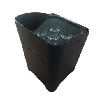2 teile/los drahtlose 6x18 Watt rgbwy uv led par licht mit wifi