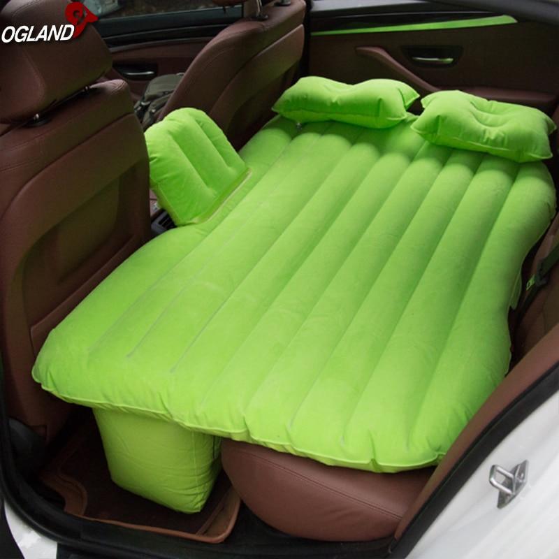 Canapé-lit gonflable de voiture de Camping, matelas gonflable d'air dans la voiture pour des tapis de gymnastique de meubles culbutant le coussin de tapis par OGLAND