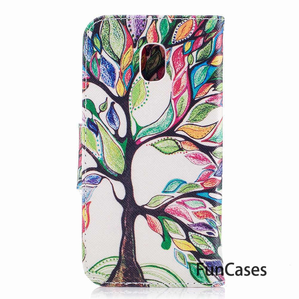 Flip Case For Samsung J7 2017 J730F Case For fundas Samsung Galaxy J7 2017 Eurasian Version Case + Card Holders Samusng